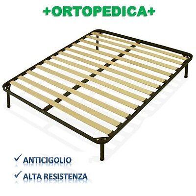 Inteligente Rete Ortopedica 13 Doghe 170x190 Con Piedini Ferro Altezza A Scelta