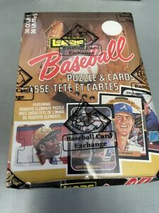 1987 Leaf Donruss Baseball BBCE Certified Wax Box - 36 PACKS FROM UNOPENED CASE