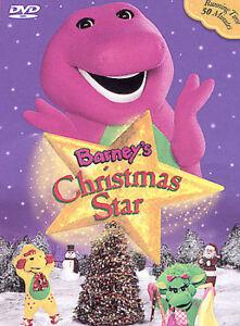 Barney A Very Merry Christmas The Movie Dvd.Barneys Christmas Star Dvd 2002