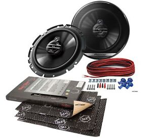Opel-Zafira-a-99-05-Pioneer-Altavoces-165mm-Frontal-Stp-Alubutil-Aislamiento