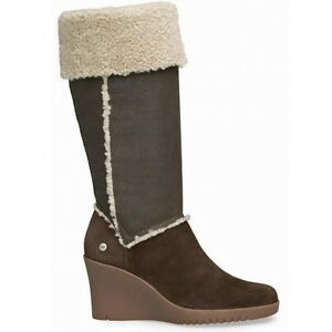 High 6 £450 39 Sandra 5 Rrp Eu Uk 5451 Sheepskin Australia Knee Boots Brown Ugg® RxzYqB