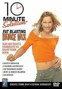 10 Minuti Soluzione - Grasso Sabbiatura Danza Mix DVD Nuovo DVD (ABD5153)