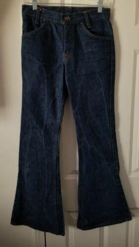 Levi's Orange Tab Bell Bottoms Jeans 28x31