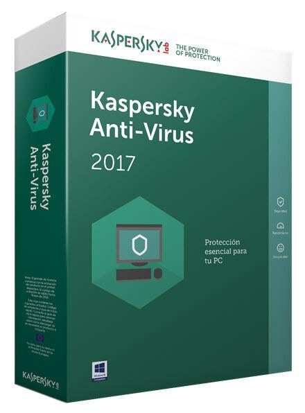 Kaspersky Anti-Virus 2017 1 Anno 3 PC Global Key Digital Download ESD