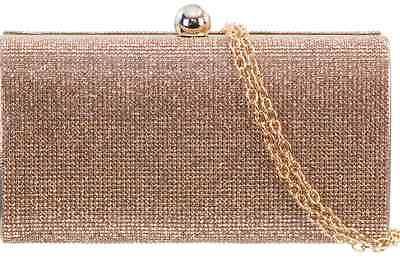 Aggressivo Onorevoli Champagne Crystal Gem Frizione Spumante Borsetta Bambine Shoulder Bag P20392-mostra Il Titolo Originale Moderno Ed Elegante Nella Moda