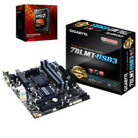 Combo: Amd Fx 8320 8-core Cpu & Gigabyte 78lmt-usb3 Am3+ Micro-atx Motherboard