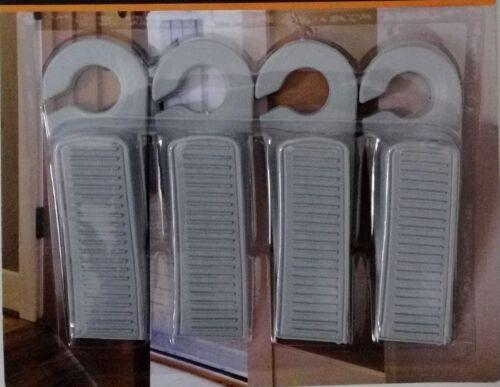 LOURDES Grande porte en caoutchouc bouchon Coin Porte Jam Catcher Block Home Office Noir