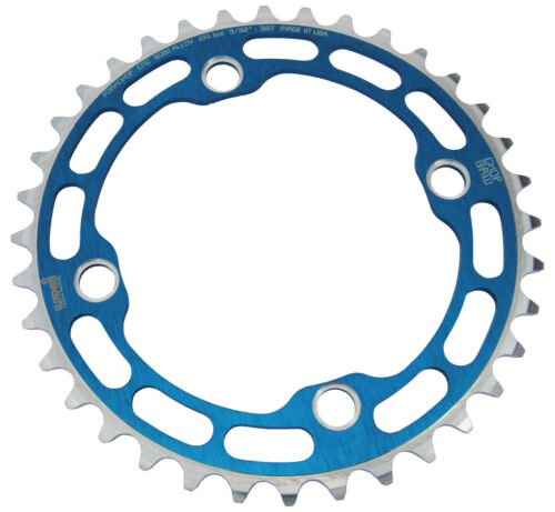 Chop Saw I USA BMX single speed bicycle Chainring 36T 4 bolt 104mm bcd BLUE