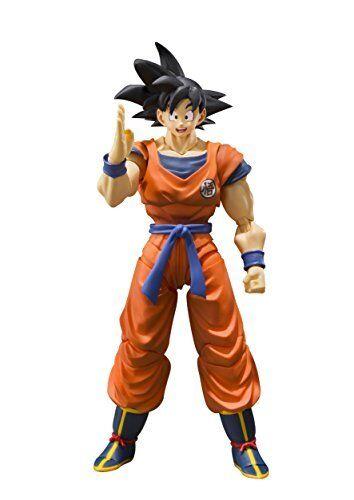 S.H.Figuarts Dragonball Z Son Goku Saiyan Grown On Earth  Figure From Japan F S