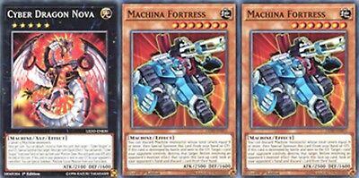 1st Edition LEDD-ENB11 3 x Machina Fortress - Common
