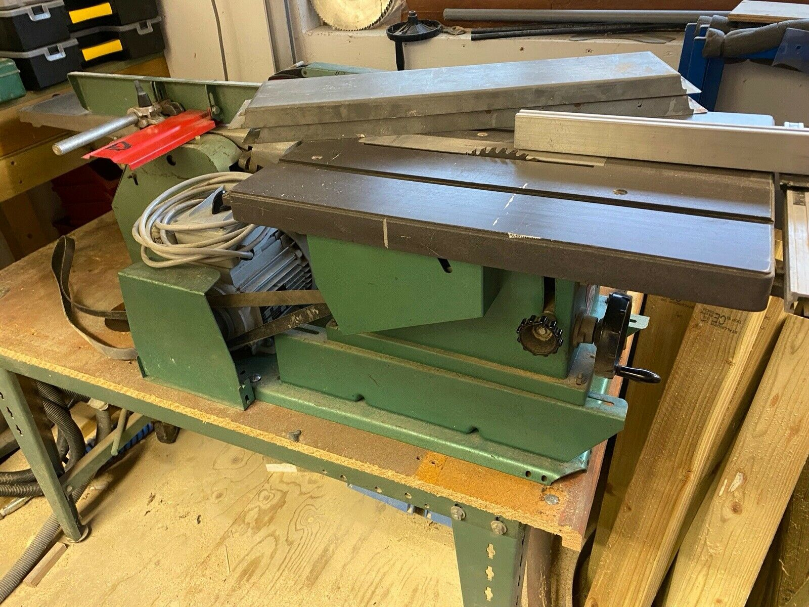 Kity Woodworking Station