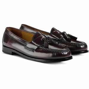Cole Haan Burgundy Tassel Loafers Slip On Shoes Size 10 EXCELLENT orig 8