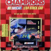 24 Jeff Gordon 1/64 Nascar Diecast Car_1996 Dupont With Coca Cola Coke On Trunk
