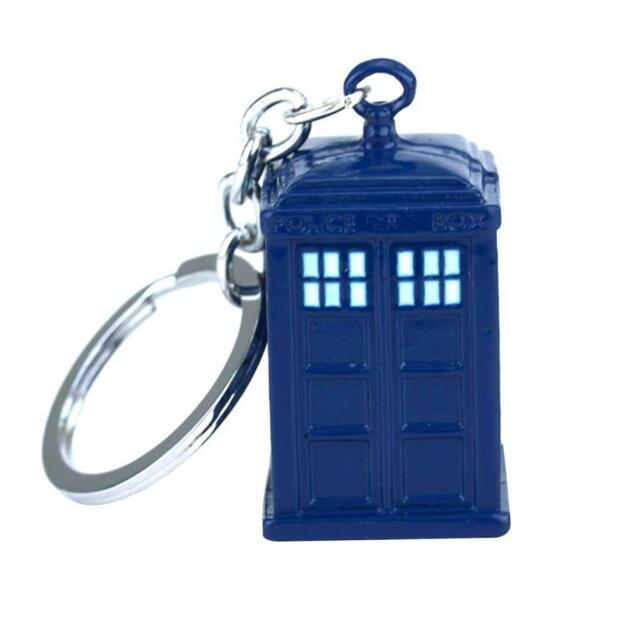 DOCTOR WHO TARDIS 8GB USB STICK WORKING LIGHT KEY-CHAIN GREAT GIFT ~