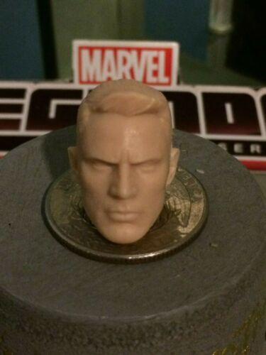 MARVEL LEGENDS HB 2016 STEVE ROGERS CAP.AMERICA 1:12 HEAD CAST FOR 6IN FIGURE