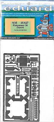 Eduard Flakpanzer 38, Gepard Incisione Fotografica Dettagli 1/35 627 Per Allan Asciugare Senza Stirare
