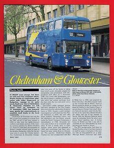 Buses Magazine Extract  Cheltenham amp Gloucester  History amp Fleet Profile 1991 - Birmingham, United Kingdom - Buses Magazine Extract  Cheltenham amp Gloucester  History amp Fleet Profile 1991 - Birmingham, United Kingdom