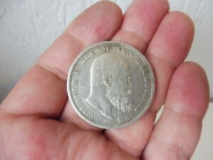 Belle, vieux Pièce de Monnaie, 5 Mark, Wurtemberg 1903 F