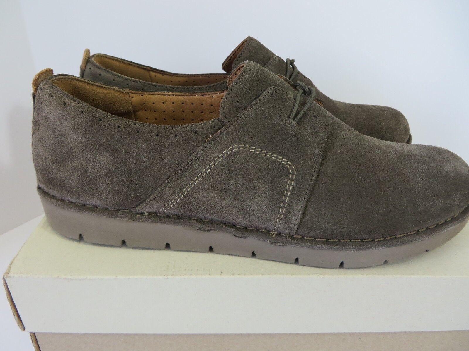 Clarks Un Ava Resbalón en Zapatillas De De De Gamuza De Color Caqui tamaño nos 12M Nuevo en Caja  B562 c8dec0