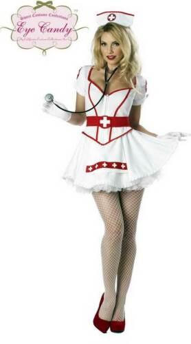 Adult Women Nurse Heart Breaker Halloween Costume Plus Size