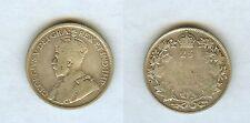 Rare Canada 1936 Dot Silver 25 cents