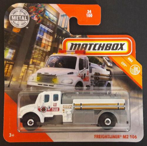 MATCHBOX 2020 FREIGHTLINER M2 106 MBX CITY NEU /& OVP