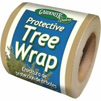 Case Of 15 Rolls 3 W X 50' L Protective Tree Wrap - Brown
