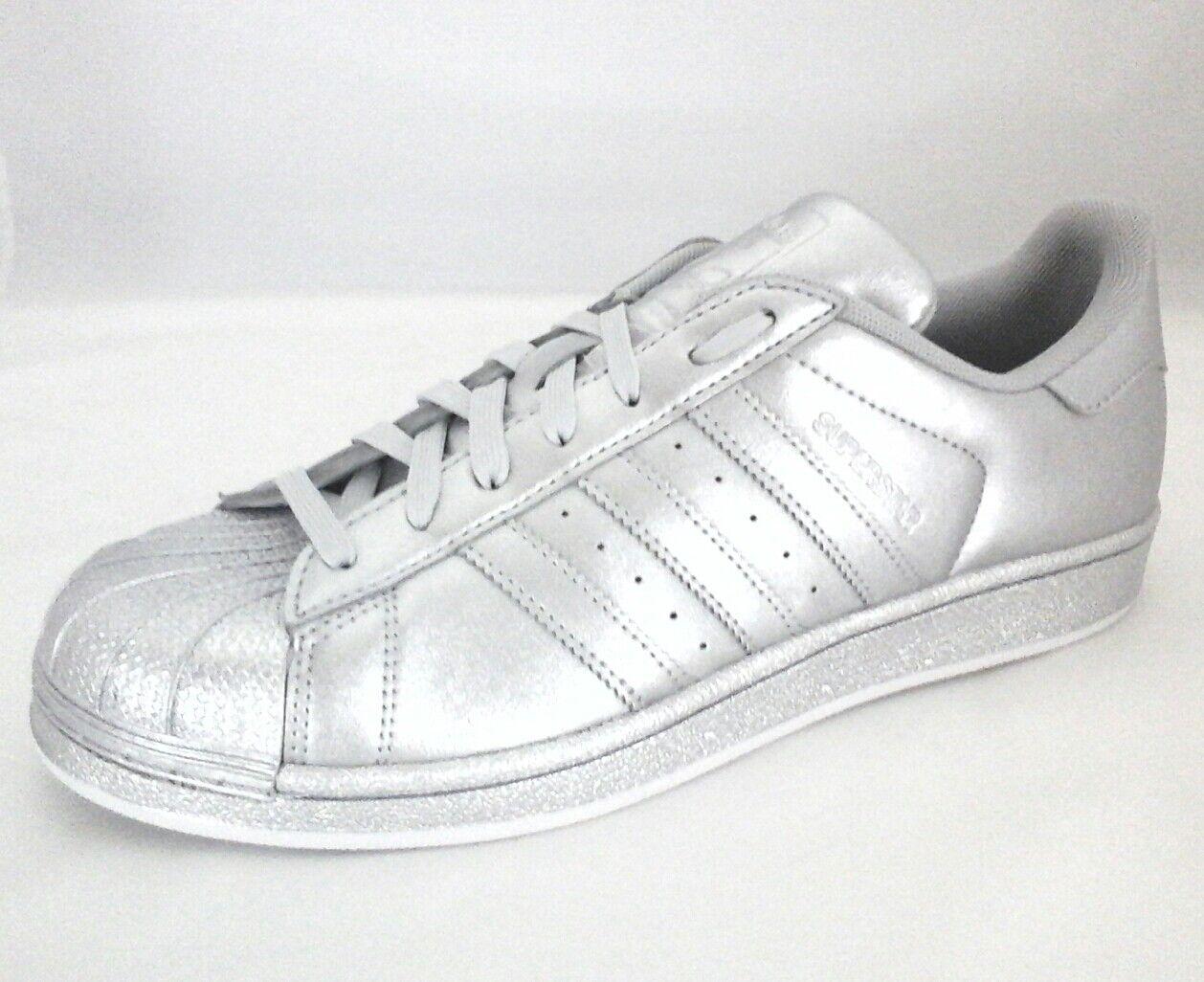 ADIDAS ORIGINALS SUPERSTAR Clamshell RARE Schuhes Damenschuhe EU SILVER BB8139 US 8 EU Damenschuhe 40 dddce7