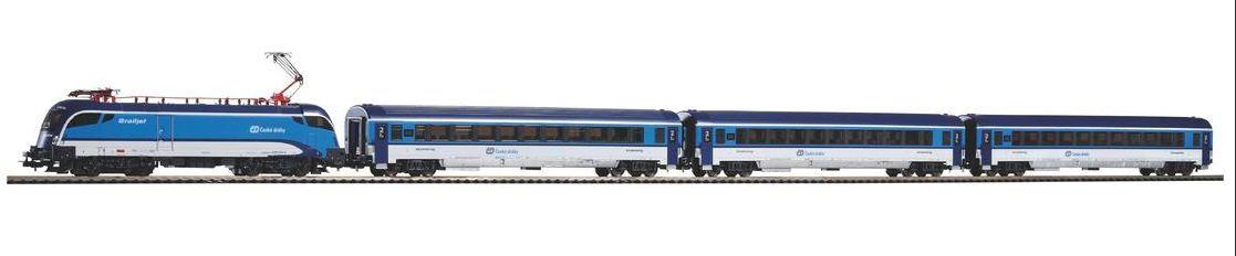 PIKO 57173 Start-Set Rail JET CD Merce Nuova