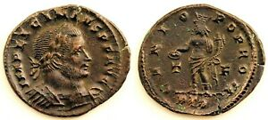 Roma-Licinio I. Follis. Trier (Alemania). 317- 324 d.C. EBC/XF. Cobre 4,4 g.