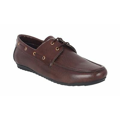 ShoeAdda Take Over Lace Up Casual Shoe Brown