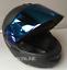 LS2-Flip-Up-Front-Motorcycle-Motorbike-Helmet-MATT-BLACK-Tinted-Blue-Visor miniatura 2