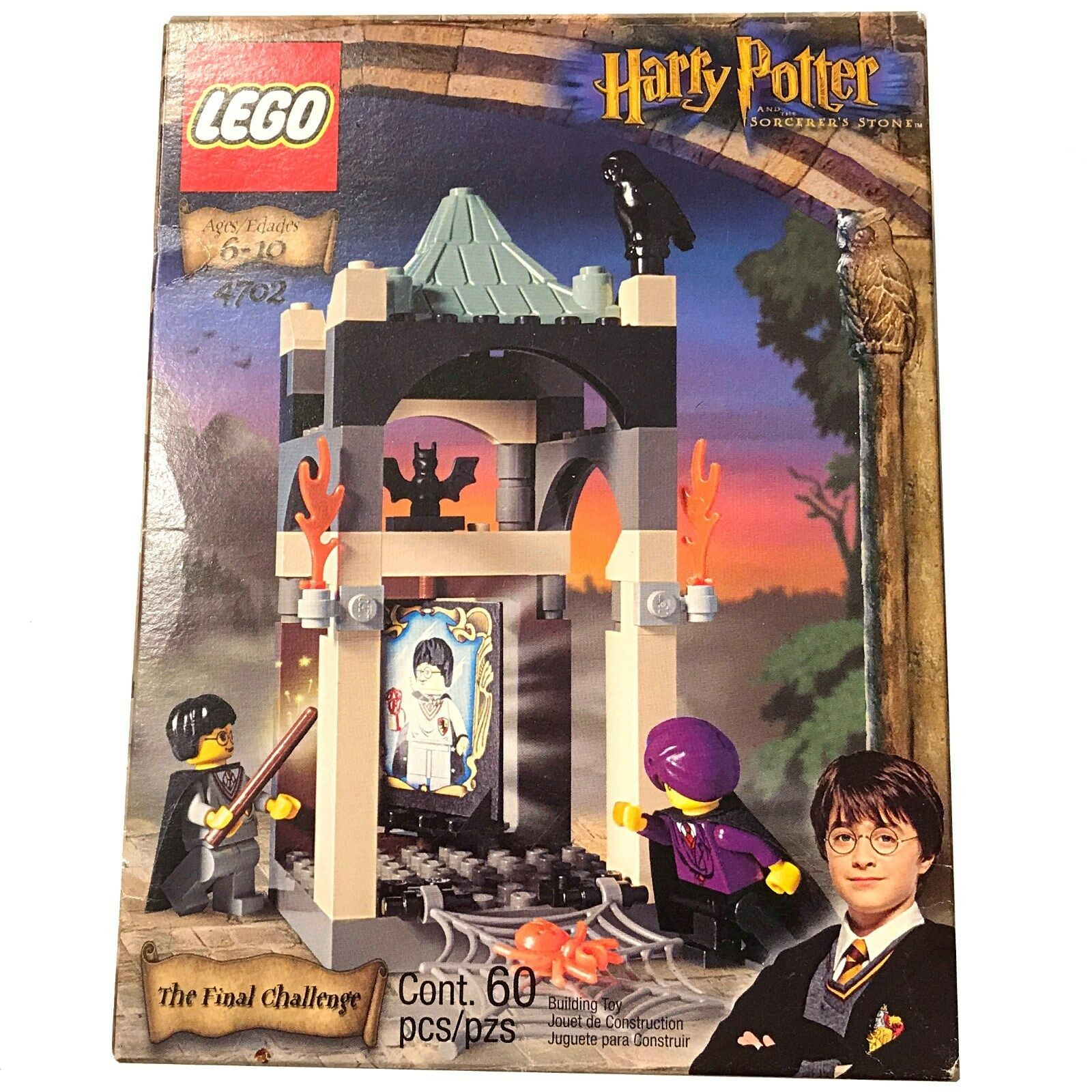 LEGO Harry Potter: The Final Challenge (4702) BRAND NEW IN BOX