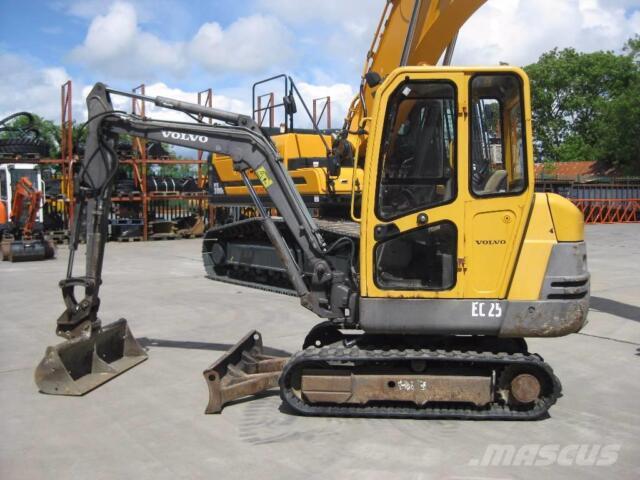 volvo ec25 service manual uk postage ebay rh ebay co uk Volvo D Series Diggers JCB Digger