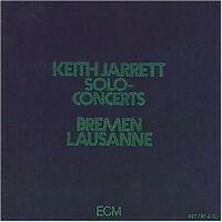 "KEITH JARRETT ""SOLO CONCERTS"" 2 CD JAZZ NEU"