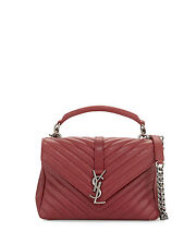 authentic ysl yves saint laurent black nylon purse shopper tote