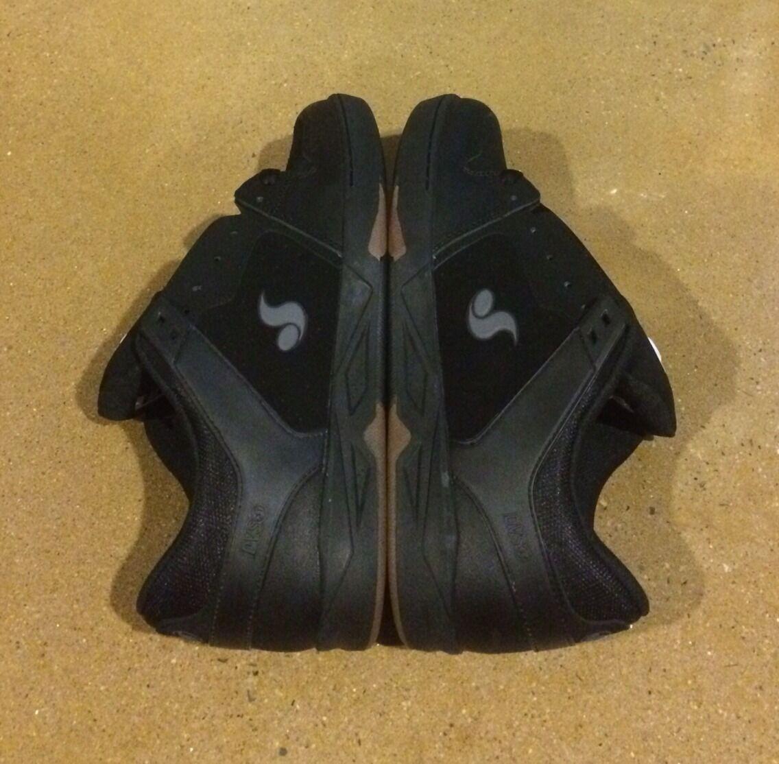 DVS Argon Size 9 Black Nubuck Militia Havoc Transom BMX DC Skate Shoes Sneakers