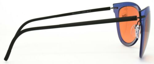 Silhouette Rx Sunglasses Explorer Line 8155 40 6254 Blue Orange Brown 49-29-135