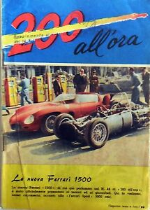 2oo All'ora La Nuova Ferrari 1500 Intrepido