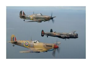 Hawker Hurricane 1 A4 reproduction photograph picture poster choice of frame