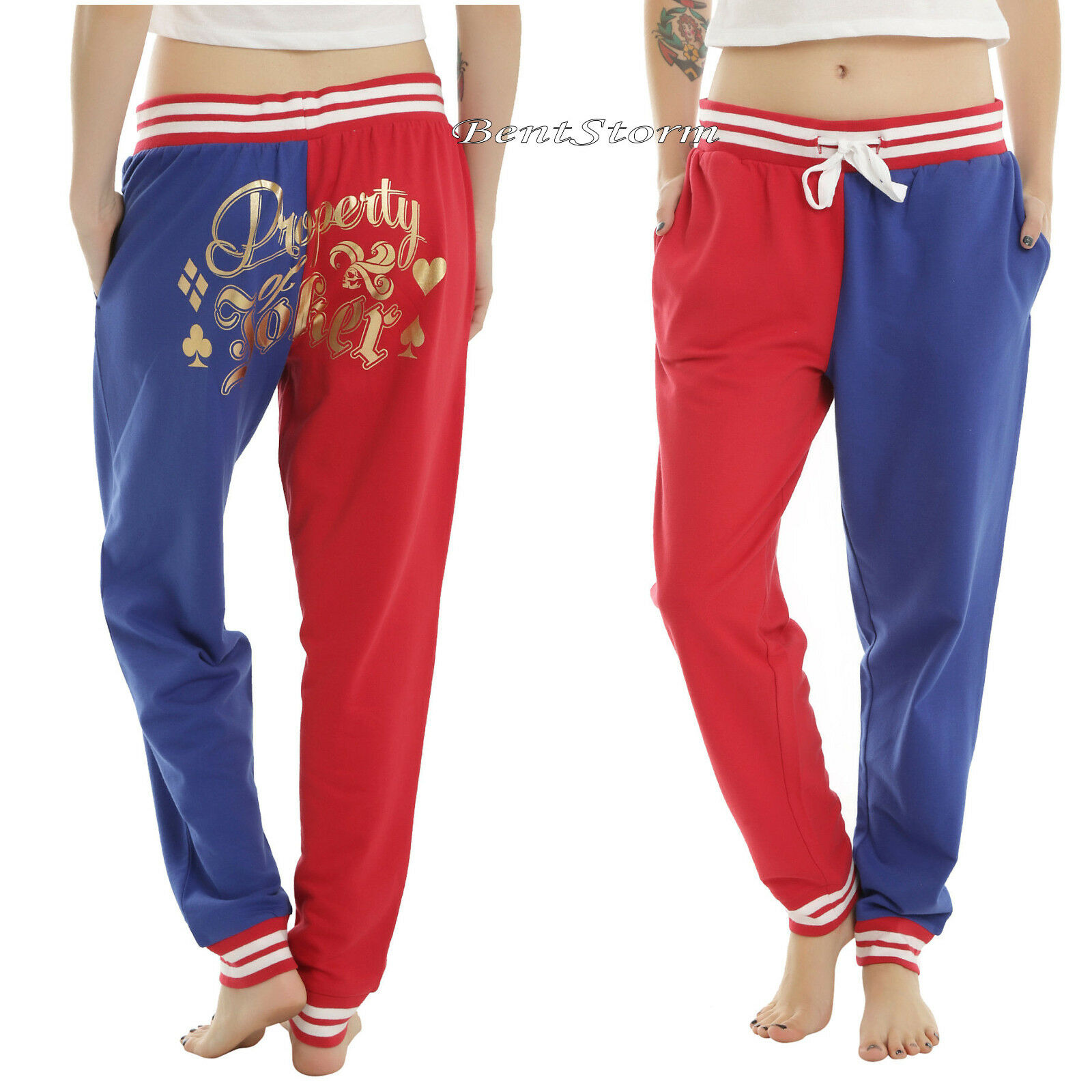 HARLEY QUINN  PROPERTY OF JOKER  Jogger   Sleep Pants DC COMICS SUICIDE SQUAD