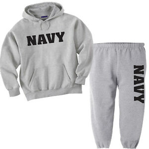 US Navy Men/'s Xtreme Endurance Navy Anchor Sweat Pants Drawstring waist Dk Navy