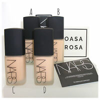 NARS Sheer Matte Foundation *13 Shades* Light Medium Dark Face 30ml BNIB Liquid