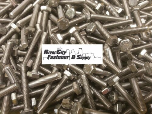 Bolts 6mm x 35mm M6-1.0x35 Stainless Steel Hex Head Cap Screws 100
