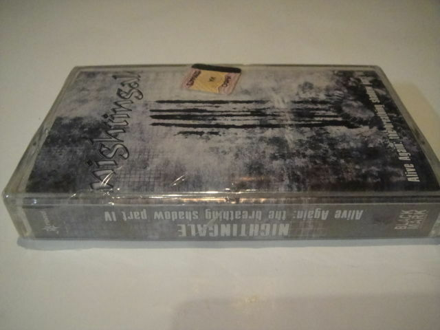 Nightingale – Alive Again: The Breathing Shadow TAPE/Cassette SEALED Russian