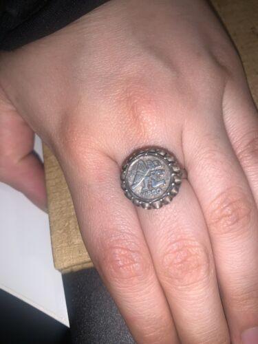 virgo zodiac Sign ring Silver 925