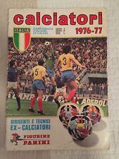 Panini Calciatori Italiano Di Calcio 1976 1977 76 77 100% Complete Sticker Album