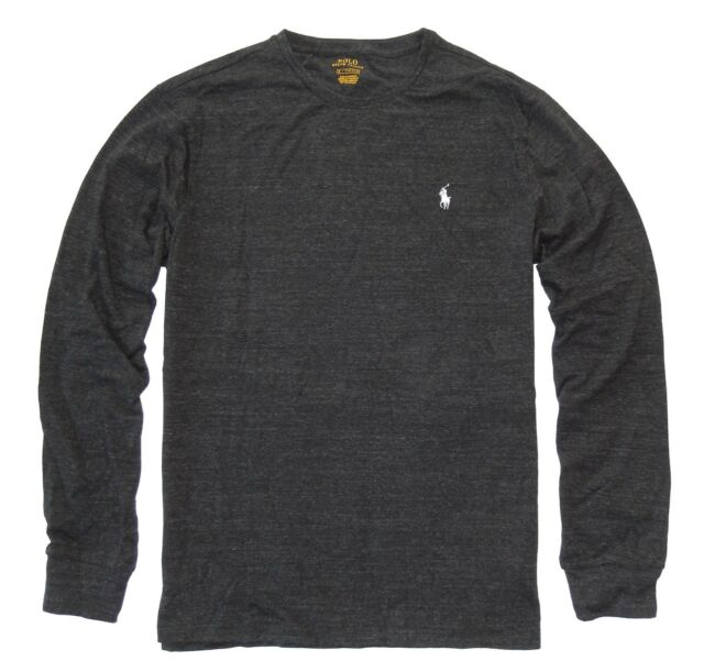 59995f10 Polo Ralph Lauren Mens Long Sleeve Pony Logo Cotton T Shirt M L XL ...
