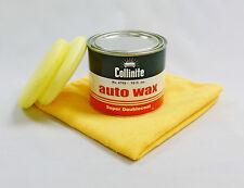 "Collinite No.476S Super Double Coat Auto Wax ""Kit"" - FREE Foam Pads & FREE M/F"