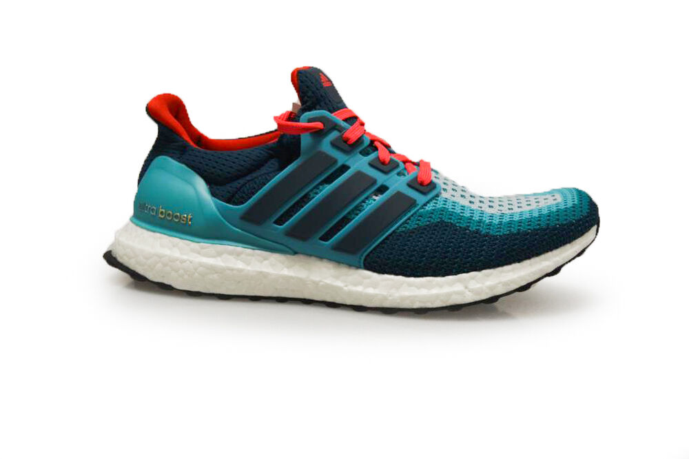 HOMMES ADIDAS ULTRA AUGMENTATION M - AQ4005 - Vert Turquoise baskets